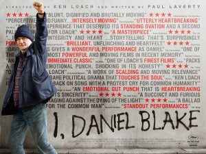 I Daniel Blake – Poster for Film out October 21 2016